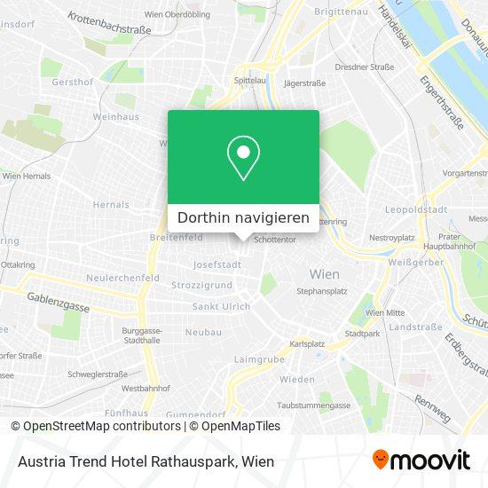 Austria Trend Hotel Rathauspark Karte
