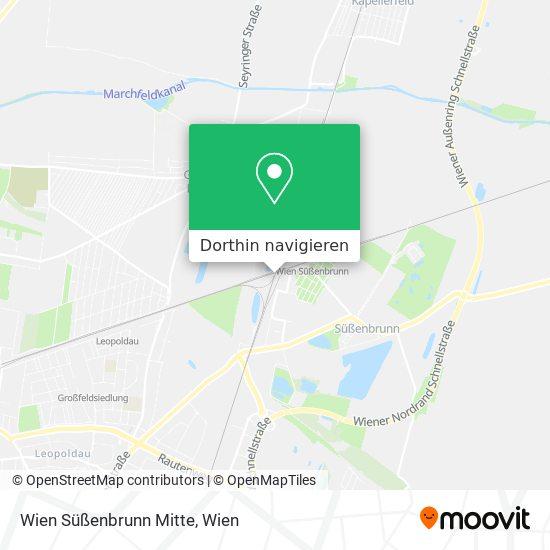 Wien Süßenbrunn Mitte Karte