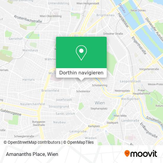 Amaranths Place Karte