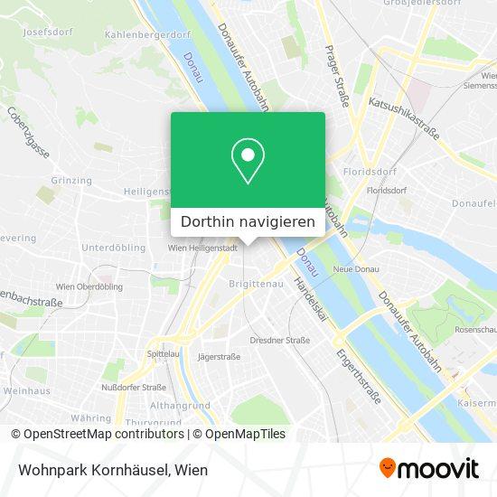 Wohnpark Kornhäusel Karte