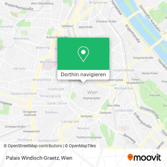 Palais Windisch-Graetz Karte