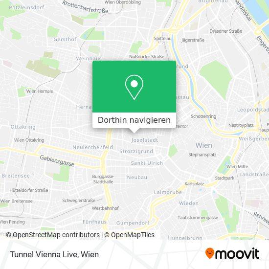 Tunnel Vienna Live Karte