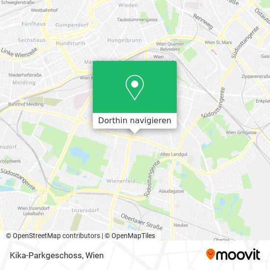 Kika-Parkgeschoss Karte