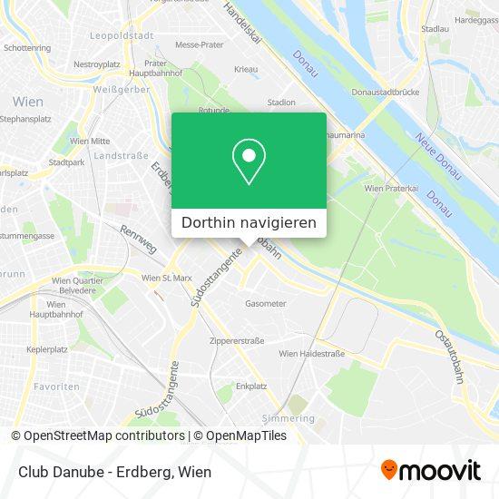 Club Danube - Erdberg Karte
