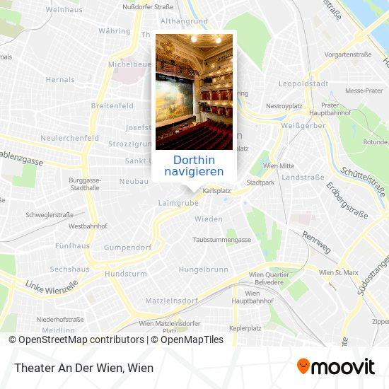 Theater An Der Wien Karte