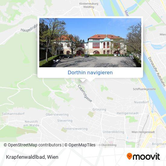 Krapfenwaldlbad Karte
