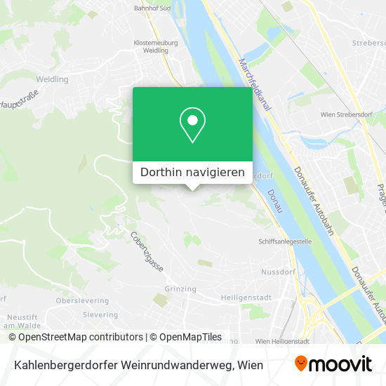 Kahlenbergerdorfer Weinrundwanderweg Karte