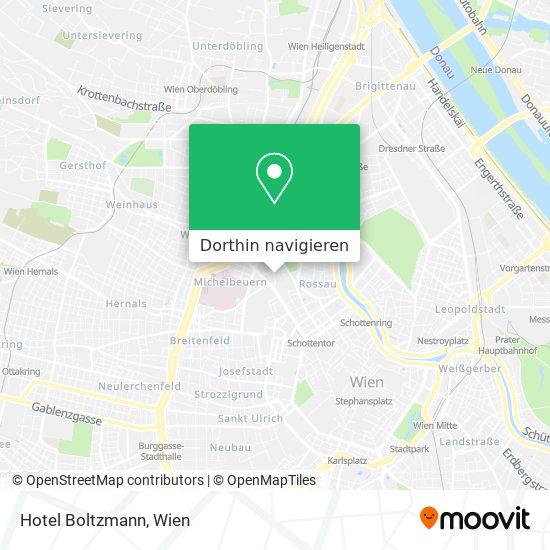 Hotel Boltzmann Karte