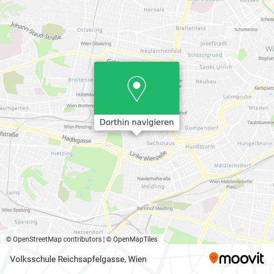 Volksschule Reichsapfelgasse Karte