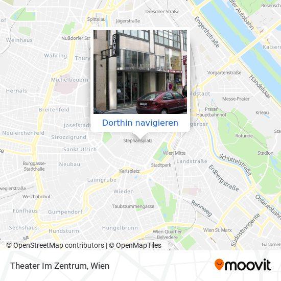 Theater Im Zentrum Karte