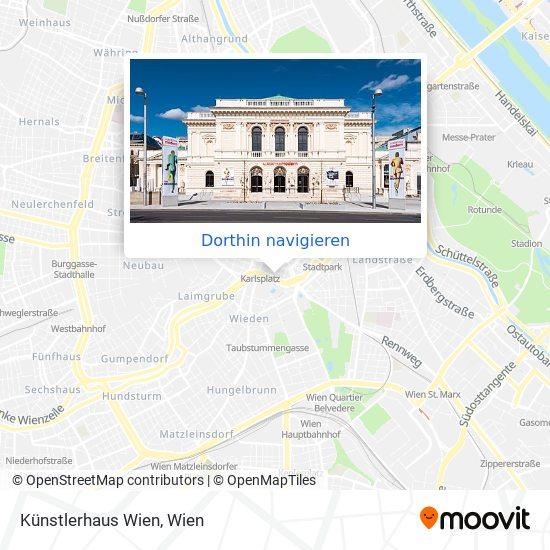 Künstlerhaus Wien Karte