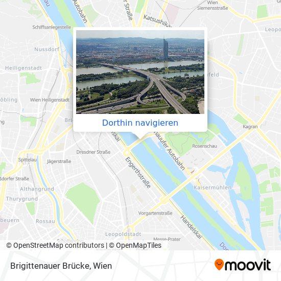 Brigittenauer Brücke Karte