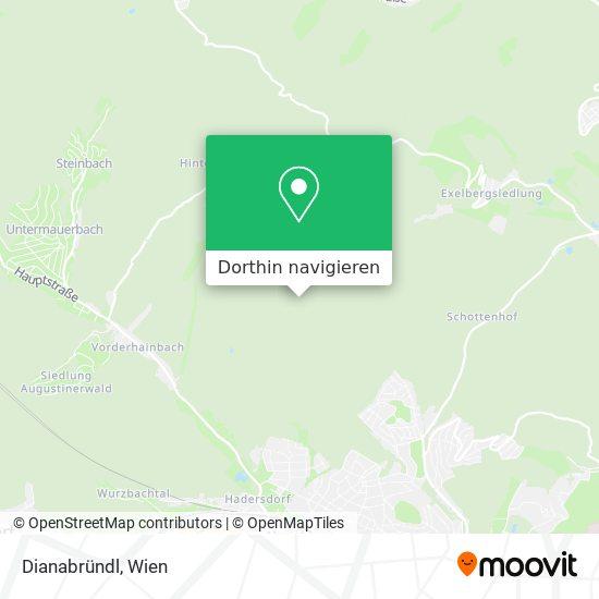 Dianabründl Karte