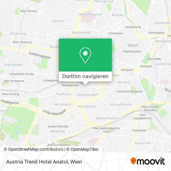 Austria Trend Hotel Anatol Karte