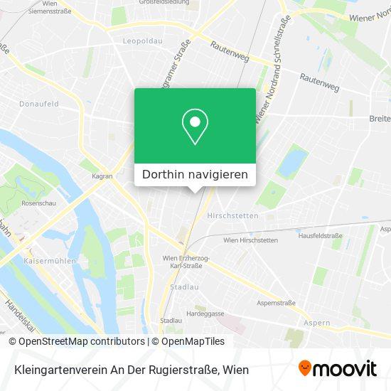 Kleingartenverein An Der Rugierstraße Karte