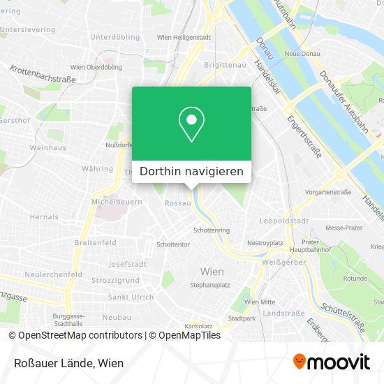 Roßauer Lände Karte