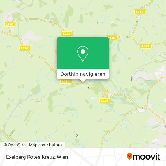 Exelberg Rotes Kreuz Karte