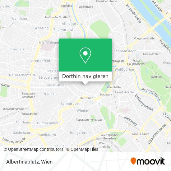 Albertinaplatz Karte