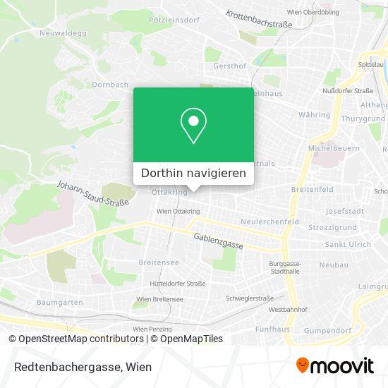 Redtenbachergasse Karte