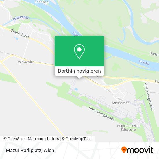 Mazur Parkplatz Karte