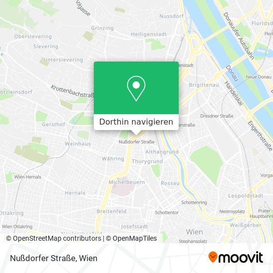 Nußdorfer Straße Karte