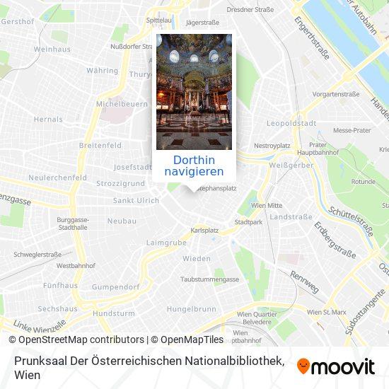 Prunksaal Der Österreichischen Nationalbibliothek Karte