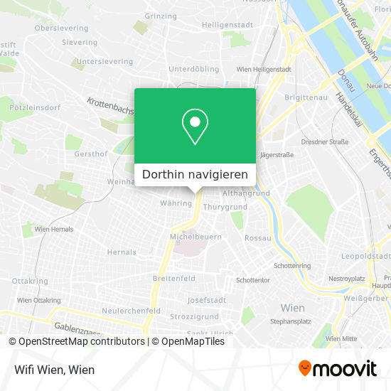 Wifi Wien Karte