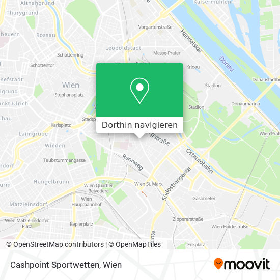 Cashpoint Sportwetten Karte