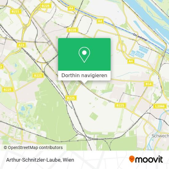 Arthur-Schnitzler-Laube Karte