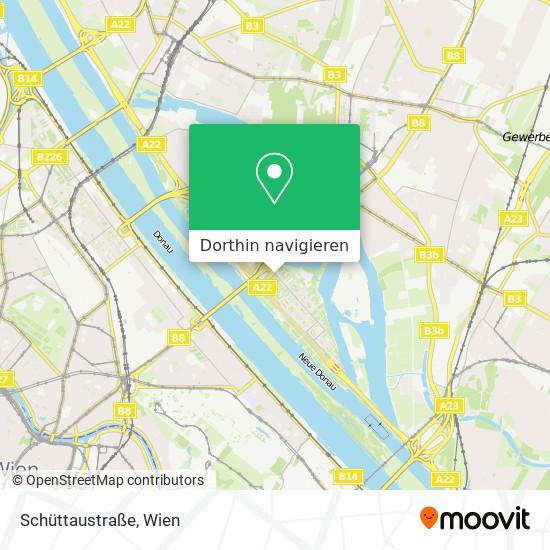 Schüttaustraße Karte