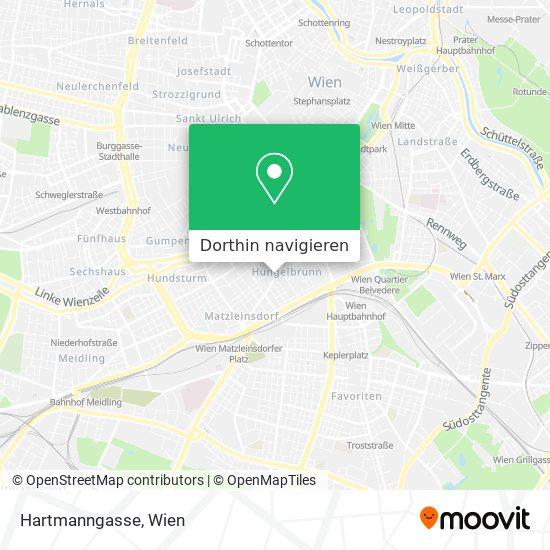 Hartmanngasse Karte