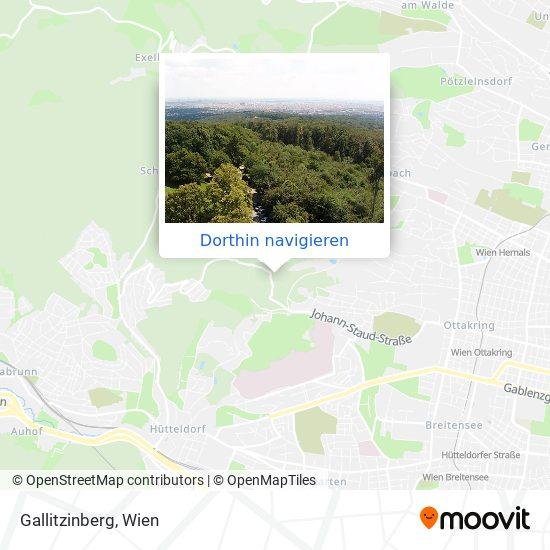 Gallitzinberg Karte
