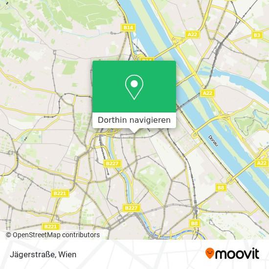 Jägerstraße Karte