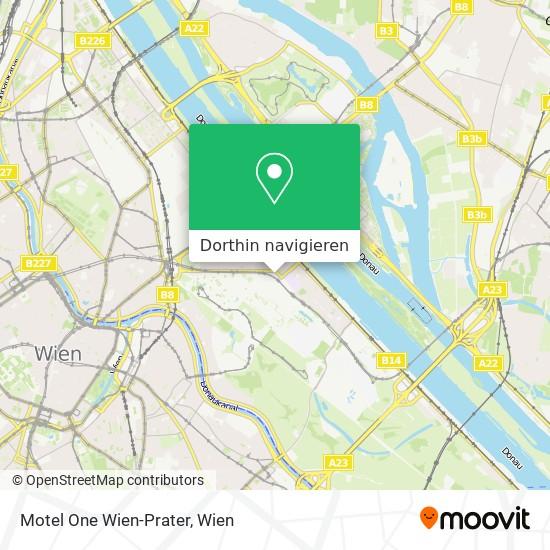Motel One Wien-Prater Karte