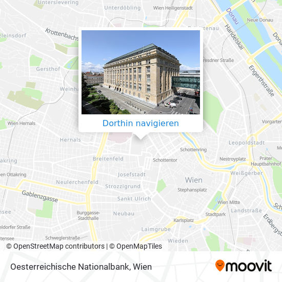 Oesterreichische Nationalbank Karte