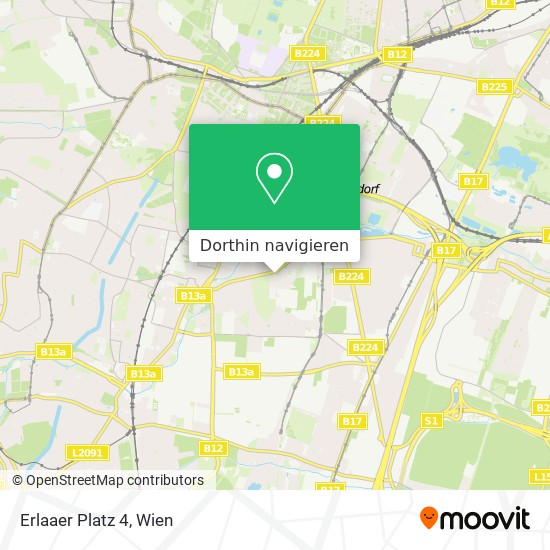 Erlaaer Platz 4 Karte