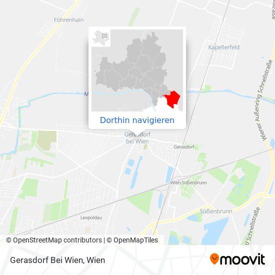 Gerasdorf Bei Wien Karte