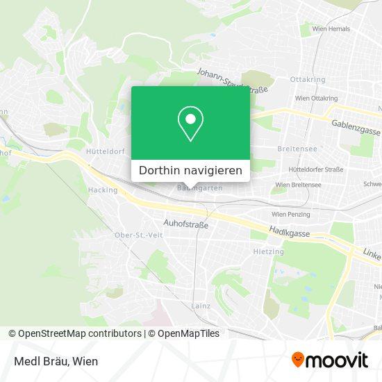 Medl Bräu Karte