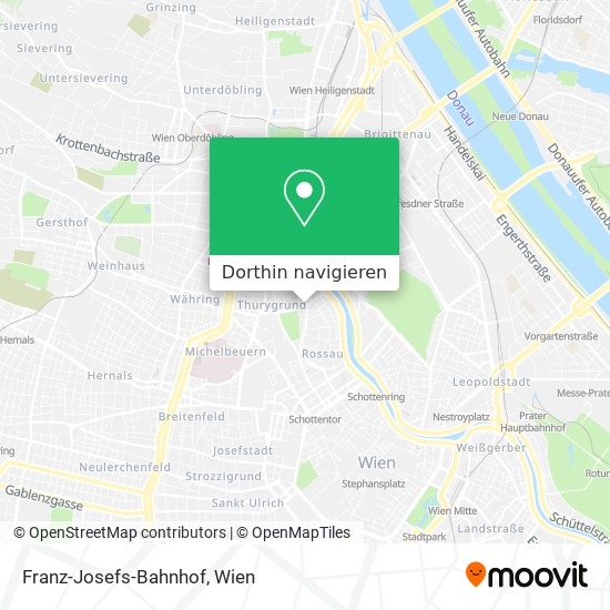 Franz-Josefs-Bahnhof Karte