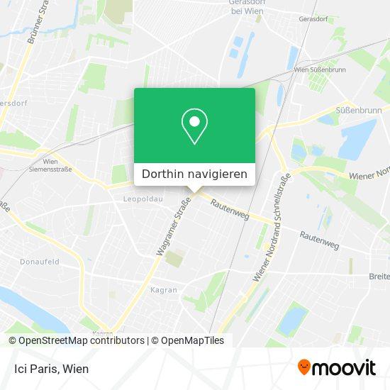 Ici Paris Karte