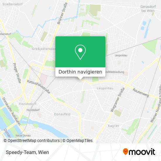 Speedy-Team Karte
