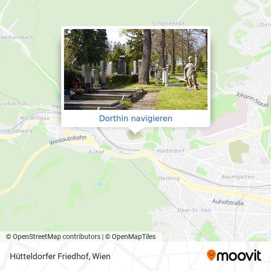 Hütteldorfer Friedhof Karte