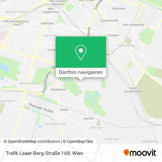 Trafik Laaer-Berg-Straße 168 Karte