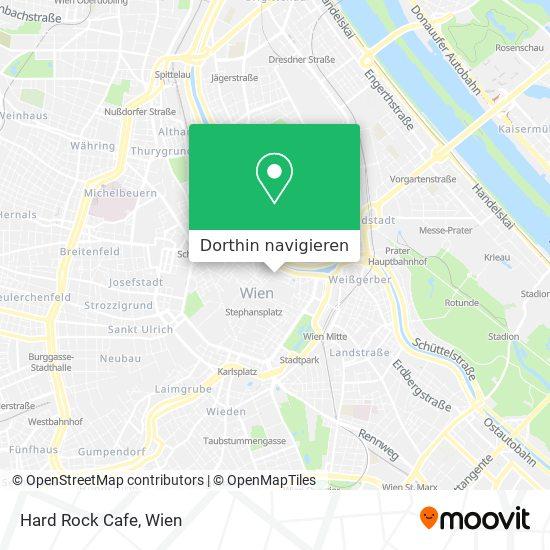Hard Rock Cafe Karte