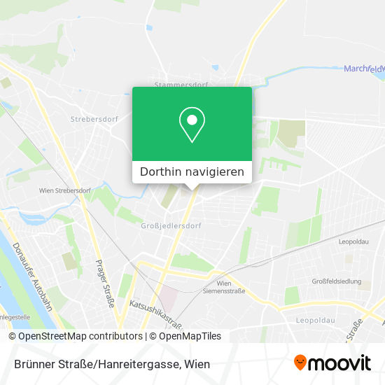 Brünner Straße/Hanreitergasse Karte