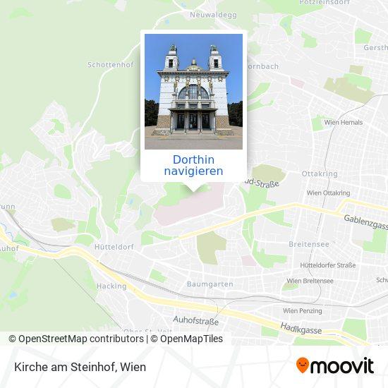 Kirche Am Steinhof Karte