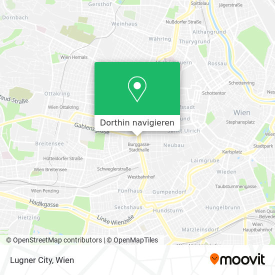 Lugner City Karte