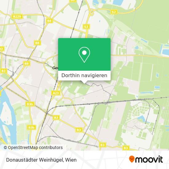 Donaustädter Weinhügel Karte