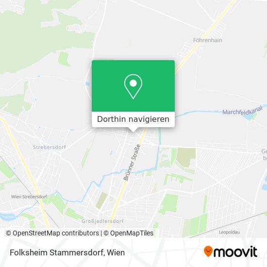 Folksheim Stammersdorf Karte