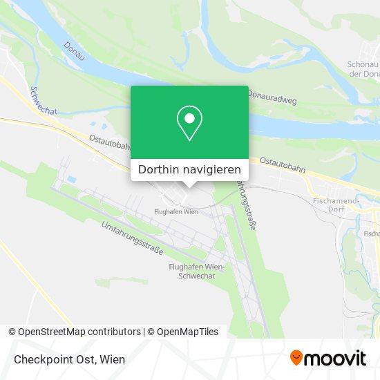 Checkpoint Ost Karte